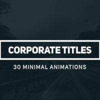 VIDEOHIVE CORPORATE TITLES FREE AFTER EFFECTS TEMPLATE