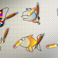 ANIMAL CARTOON PAINT – MOTION GRAPHIC (VIDEOHIVE)