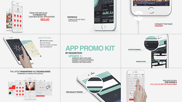 videohive app promo free