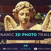 VIDEOHIVE DYNAMIC 3D PHOTO TRAILER FREE DOWNLOAD