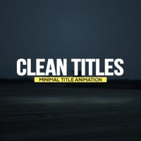 VIDEOHIVE CLEAN TITLES FREE DOWNLOAD