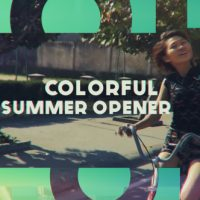 VIDEOHIVE COLORFUL SUMMER OPENER FREE DOWNLOAD