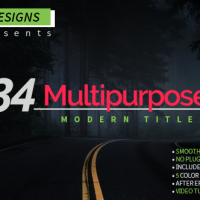 VIDEOHIVE MULTIPURPOSE MODERN TITLES FREE DOWNLOAD