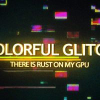 VIDEOHIVE COLORFUL GLITCH REVEAL HD FREE DOWNLOAD