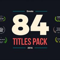 VIDEOHIVE 84 TITLES PACK FREE DOWNLOAD