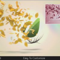 VIDEOHIVE FLYING LEAVES LOGO REVEAL FREE DOWNLOAD