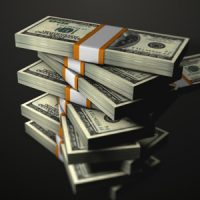 STACKED DOLLARS FALLING – MOTION GRAPHIC (VIDEOHIVE)