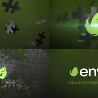 VIDEOHIVE PUZZLE LOGO ANIMATION ELEMENT 3D FREE DOWNLOAD