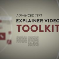 VIDEOHIVE ADVANCED TEXT EXPLAINER VIDEO TOOLKIT FREE DOWNLOAD