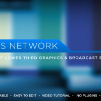 VIDEOHIVE NEWS NETWORK LOWER THIRDS FREE DOWNLOAD