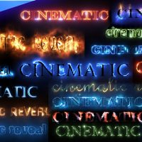 VIDEOHIVE CINEMATIC TEXT STYLES PACK FREE DOWNLOAD