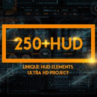 VIDEOHIVE 250 HUD SCI-FI FREE AFTER EFFECTS TEMPLATE