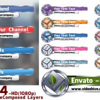 VIDEOHIVE SOCIAL MEDIA LOWERTHIRD