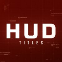 VIDEOHIVE HUD TITLES FREE AFTER EFFECTS TEMPLATE
