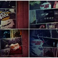 VIDEOHIVE COMICS BOOK FREE AFTER EFFECTS TEMPLATE