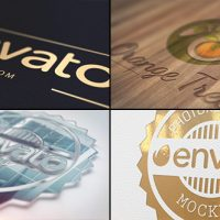 VIDEOHIVE REALISTIC LOGO 16659503 FREE DOWNLOAD