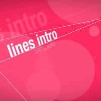 VIDEOHIVE LINES INTRO – APPLE MOTION TEMPLATES