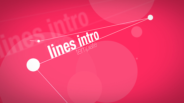 Videohive lines intro apple motion templates free after effects template videohive projects for Free apple motion templates
