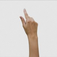14 FOOTAGE FEMALE HAND GESTURES TOUCHSCREEN – STOCK FOOTAGE (VIDEOHIVE)