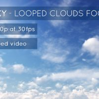 SUNNY SKY AND CLOUDS – STOCK FOOTAGE (VIDEOHIVE)