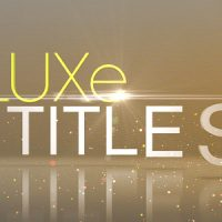 VIDEOHIVE LUXE TITLES FREE AFTER EFFECTS TEMPLATE