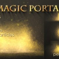 VIDEOHIVE MAGIC PORTAL FREE AFTER EFFECTS TEMPLATE