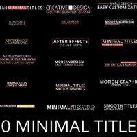 VIDEOHIVE MINIMAL TITLES 17813640 FREE DOWNLOAD