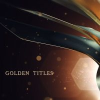 VIDEOHIVE GOLDEN TITLES FREE AFTER EFFECTS TEMPLATE