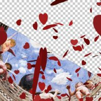 FALLING VALENTINE HEARTS – MOTION GRAPHIC (VIDEOHIVE)