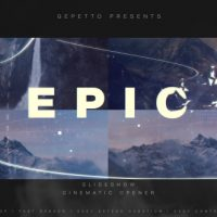 VIDEOHIVE EPIC SLIDESHOW I CINEMATIC OPENER FREE DOWNLOAD