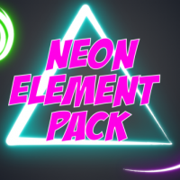 VIDEOHIVE NEON ELEMENT PACK FREE DOWNLOAD