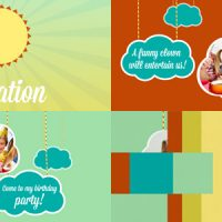 VIDEOHIVE KIDS INTRO CLOUDS ON ROPES FREE DOWNLOAD