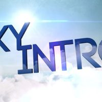 VIDEOHIVE SKY INTRO FREE AFTER EFFECTS TEMPLATE