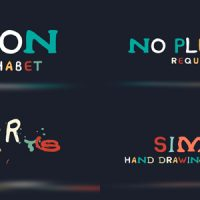VIDEOHIVE TOON ALPHABET FREE DOWNLOAD