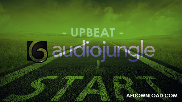 UPBEAT (AUDIOJUNGLE) FREE DOWNLOAD - Free After Effects Template