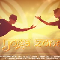 VIDEOHIVE YOGA ZONE FREE AFTER EFFECTS TEMPLATE