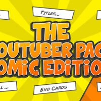 VIDEOHIVE THE YOUTUBER PACK – COMIC EDITION FREE DOWNLOAD