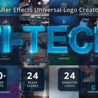 VIDEOHIVE ULTIMATE HI-TECH LOGO GENERATOR FREE DOWNLOAD