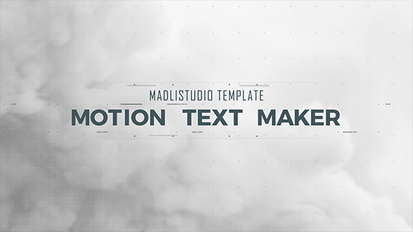 VIDEOHIVE MOTION TEXT MAKER FREE DOWNLOAD - Free After Effects