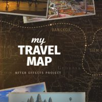 VIDEOHIVE MY TRAVEL MAP FREE AFTER EFFECTS TEMPLATE