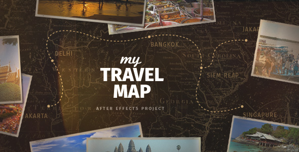 Videohive my travel map free after effects template free after videohive my travel map free after effects template gumiabroncs Image collections