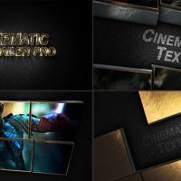 VIDEOHIVE CINEMATIC TRAILER PRO FREE DOWNLOAD
