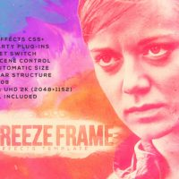 VIDEOHIVE INKY FREEZE FRAME FREE AFTER EFFECTS TEMPLATE