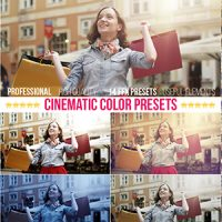 VIDEOHIVE CINEMATIC COLOR PRESETS FREE ADD ON