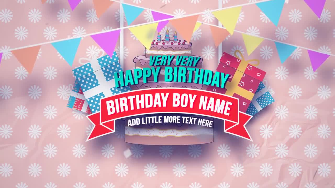 Happy birthday slideshow after effects project motion array happy birthday slideshow after effects project motion array maxwellsz