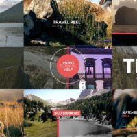 VIDEOHIVE TRAVEL REEL WITH TITLES FREE DOWNLOAD