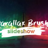VIDEOHIVE PARALLAX BRUSH SLIDESHOW FREE DOWNLOAD