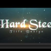 HARD STEEL – AFTER EFFECTS PROJECT (MOTION ARRAY)