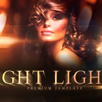 VIDEOHIVE NIGHT LIGHTS – AFTER EFFECTS TEMPLATE
