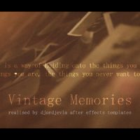 VIDEOHIVE VINTAGE MEMORIES FREE DOWNLOAD